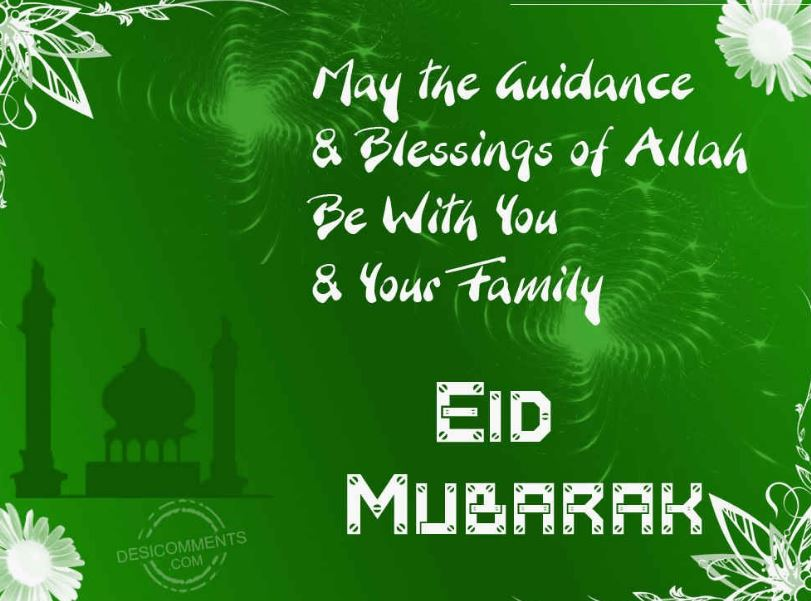 eid mubarak to you and your family